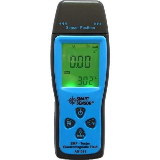 Smart Sensor As 1392 Radyasyon Ölçer Emf Cihazı
