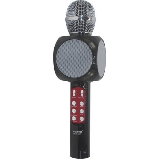 Sonia SN-X777 Kablosuz Stereo Bluetooth Hoparlör - Siyah