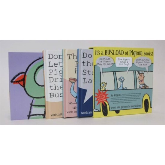 It's a Busload of Pigeon Books! (NEW ISBN) - Mo Willems