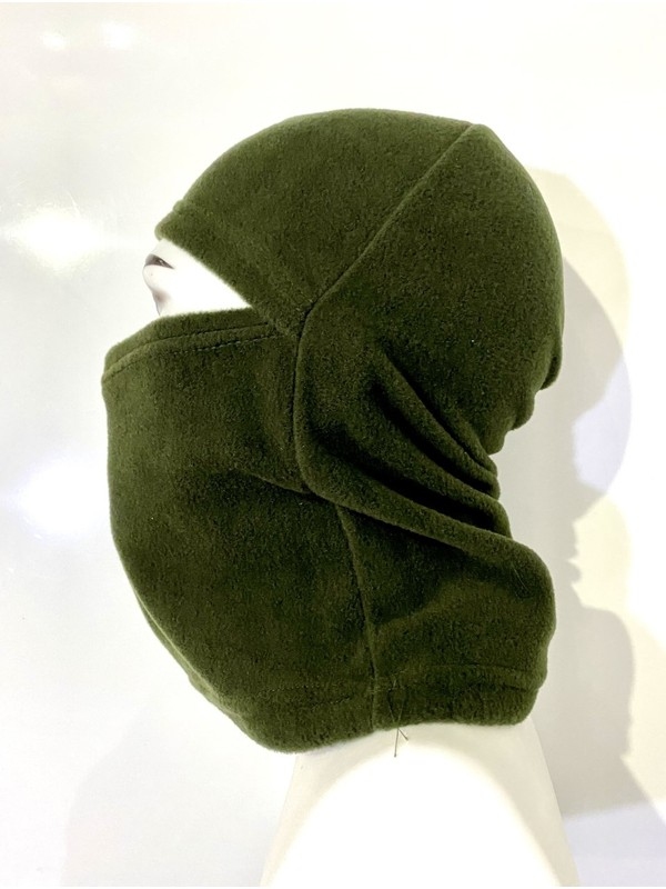 Allhunting Yeşil Polar Kar Maskesi