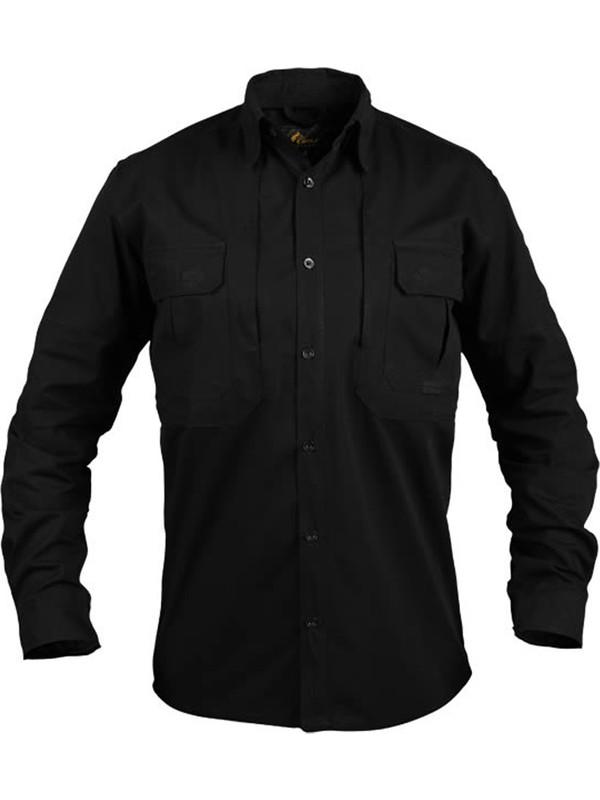 CosyWolf Siyah Kırıkkale Taktik Gömlek