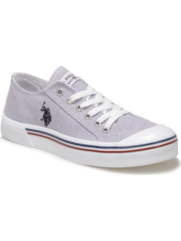 U.S. Polo Assn. Penelope 1Fx Lila Kadın Havuz Taban Sneaker