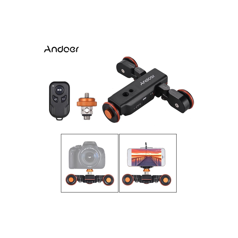 Andoer L4 Pro Motorlu Kamera Video Dolly ile Ölçek (Yurt Fiyatı