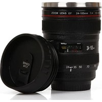 Bbc Objektif Görünümlü Lens Çelik Termos Mug Bardak