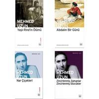 Mehmed Uzun 4 Kitap Set   Yaşlı Rind'in Ölümü - Abdalın Bir Günü - Nar Çiçekleri - Zincirlenmiş Zamanlar Zincirlenmiş Sözcükler