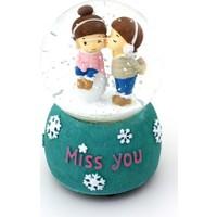 Bbc Miss You Ilk Öpücük Romantik Aşıklar Motorlu Püskürtmeli Işıklı