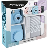 Fujifilm Instax Mini 11 Çizgili Laporta Albümlü Mavi Kit