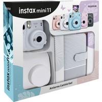 Fujifilm Instax Mini 11 Çizgili Laporta Albümlü Beyaz Kit