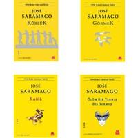 Jose Saramago 4 Kitap Set (Körlük, Görmek, Kabil, Ölüm Bir Varmış Bir Yokmuş)