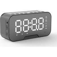 Gaman Bluetooth Mp3 Müzik Çalarlı Fm Radyolu Alarmlı Masa Saati