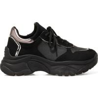 İnci Mary Siyah Kadın Sneaker Ayakkabı