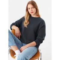 Mavi Kadın Siyah Modal Sweatshirt 168837-900