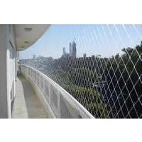 Ünal 2,50 x 6 Metre Balkon Kuş Güvercin Önleme Filesi Balkon Ağı