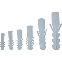 Made Plastik Dübel 8 mm 1000 Adet