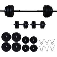 Aydın Sport 35 kg Dambıl Seti (Dumbell) Ağırlık Seti