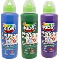 Funny Kids Soğuk Renkler Parmak Boyası 500 cc 3'lü
