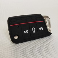 Pelit Oto Volkswagen, Skoda, Seat Anahtar Kılıfı Silikon (Oem)
