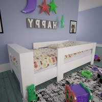 Ninnimo Montessori Karyola Mdf 90 x 190 cm Yatak Uyumlu