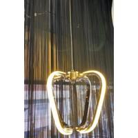 Halis Avize LED Tekli Sarkıt Gold