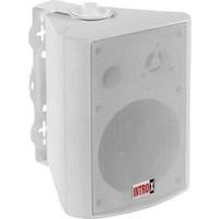 Intro-x Duvar Hoparlörü 200W Trafolu Kabin Hoparlör 2 Yollu / 16CM / 88 Ohm /100V-HAT Beyaz Intro-X Fx-6