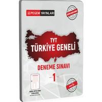 Pegem Akademi Yayıncılık TYT Türkiye Geneli Deneme Sınavı 1