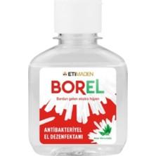 Eti Maden Borel Aloe Vera Özlü El Dezenfektanı 100 ml + Roll Lastikli Cerrahi Maske 3 Katlı 15 Adet