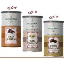 Aspresso 3'lü Sıcak Çikolata Gurme Seti