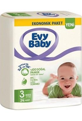 Evy Baby Eko 3 Mıdı 34'lü