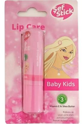 Şef Stick Lip Care Dudak Koruyucu Baby Kids