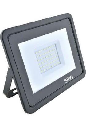 Foblight Fob-Fl-50-Smd 50 Watt Beyaz İP65 LED Projektör