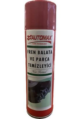 Automax Fren Balata Temizleme Spreyi Yeni Formül 500 ml