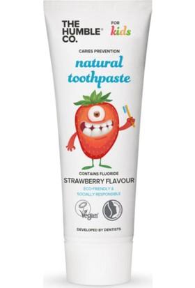 Humble Brush Çocuk Diş Macunu - Çilek Aromalı 75 ml