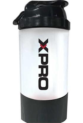 Xpro Toz Saklama Hazneli Shaker Siyah 500ML