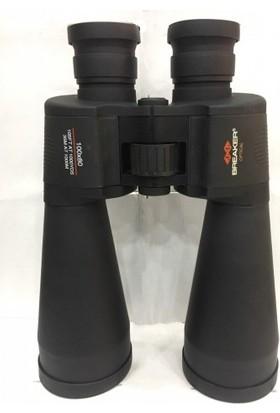 Breaker 100X80 Süper El Dürbünü - Çift Göz Ayarlı - Mavi Mercekli
