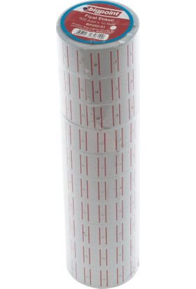 Bigpoint Bp552-01 Fıyat Etıketı 10Lu Beyaz