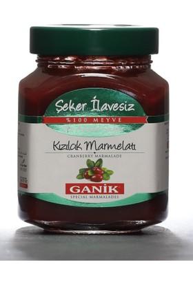 Ganik Şeker İlavesiz Kızılcık Marmelatı 350 gr