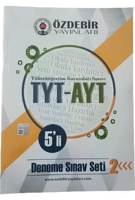 Özdebir Yayınları TYT-AYT 5'li Deneme Sınav Seti 2