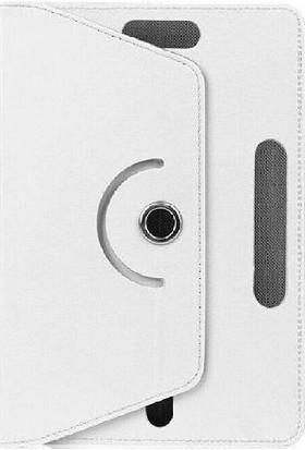"""Aksesuarfırsatı Hometech Elite 8 New 8"""" Tablet Kılıfı Beyaz"""
