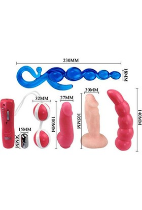 Love Kıts Vibratör Set ve Playboy Masaj Yağı