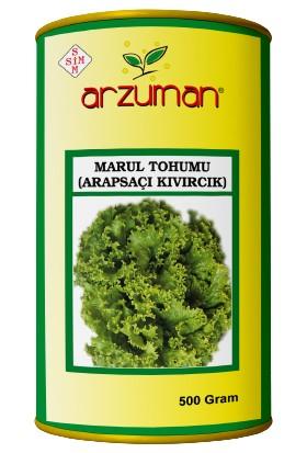 Arzuman Arapsaçı Kıvırcık Marul Tohumu 500 Gram
