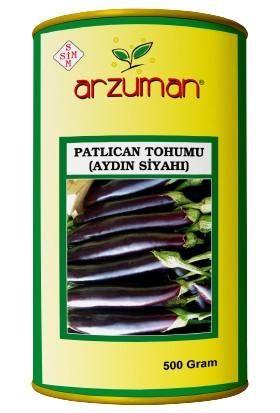 Arzuman Aydın Siyahı Patlıcan Tohumu 500 Gram