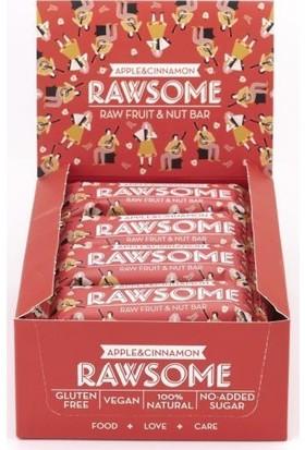 Rawsome Elmalı Tarçınlı Meyve Barı 40 gr 16 Adet