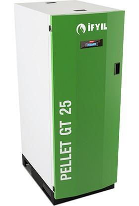 İfyıl Pelet Yakıtlı Kalorifer Kazanı Pelet Gt 25 Plus