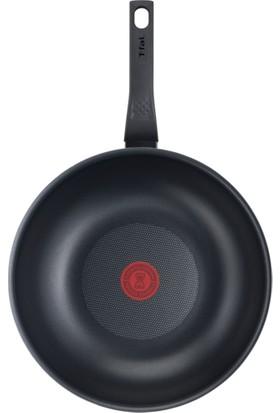 Tefal Titanyum 1X Extra Cook&Clean Difüzyon Tabanlı 28 cm Wok Tava - 2100118953