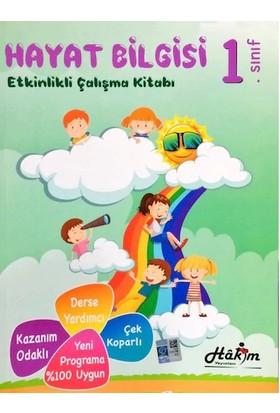Hakim Yayınları 1. Sınıf Hayat Bilgisi Etkinlikli Çalışma Kitabı
