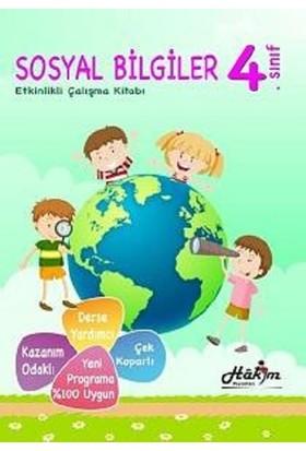 Hakim Yayınları Etkinlikli Sosyal Bilgiler Çalışma Kitabı 4. Sınıf
