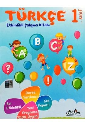 Hakim Yayınları 1. Sınıf Türkçe Etkinlikli Çalışma Kitabı