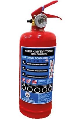 Poyraz 1 kg Yangın Söndürme Tüpü-2 Yıl Garantilidir. Bar Basınç Göstergesi Mevcuttur.