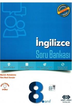 Dört Çarpı Dört Yayınevi 8. Sınıf İngilizce Soru Bankası