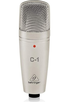 Behringer UMC202HD Ses Kartı, Behringer C-1 Kondenser Mikrofon, Behringer HPS3000 Stüdyo Kulaklığı, Masa Tipi Mikrofon Standı + Shock Mount + Pop Filtre, Euroclub - Cmc 500B 5 Metre Mikrofon Kablosu